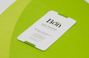bon business card by kpucu