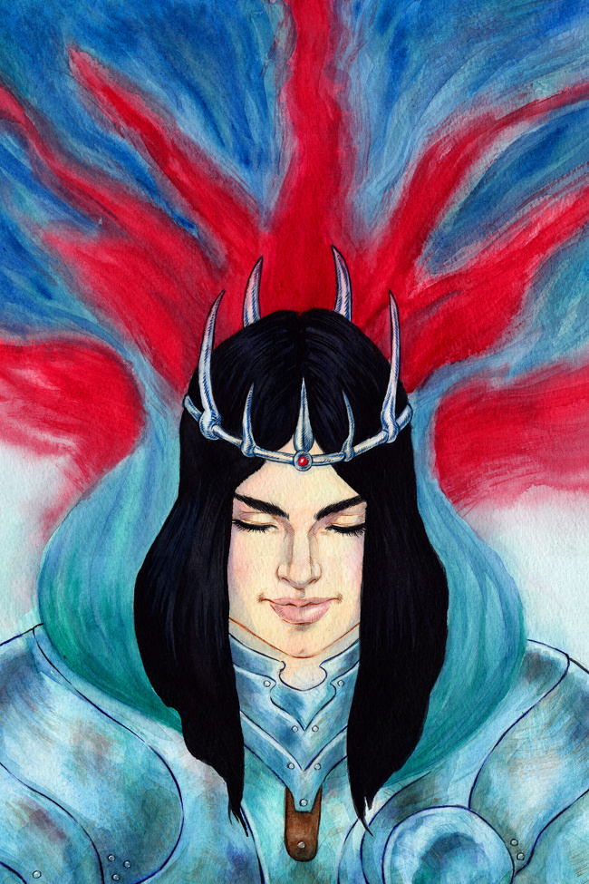 The Blind Queen by Gilran