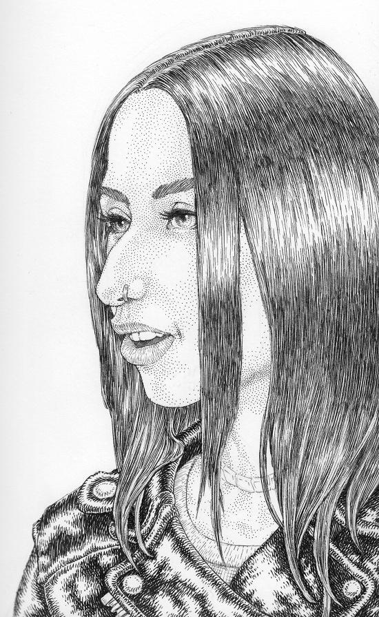 Lousine Gevorkyan by Gilran