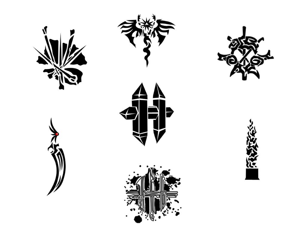 The dark six tribal tattoos by ludifer on deviantart the dark six tribal tattoos by ludifer biocorpaavc Gallery