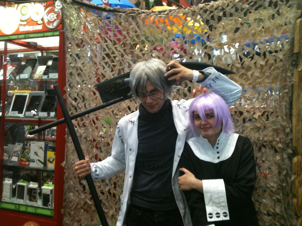 Crona and Stein cosplay 2 by Ludifer