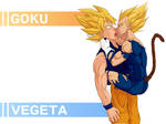 Goku + Vegeta Wallpaper