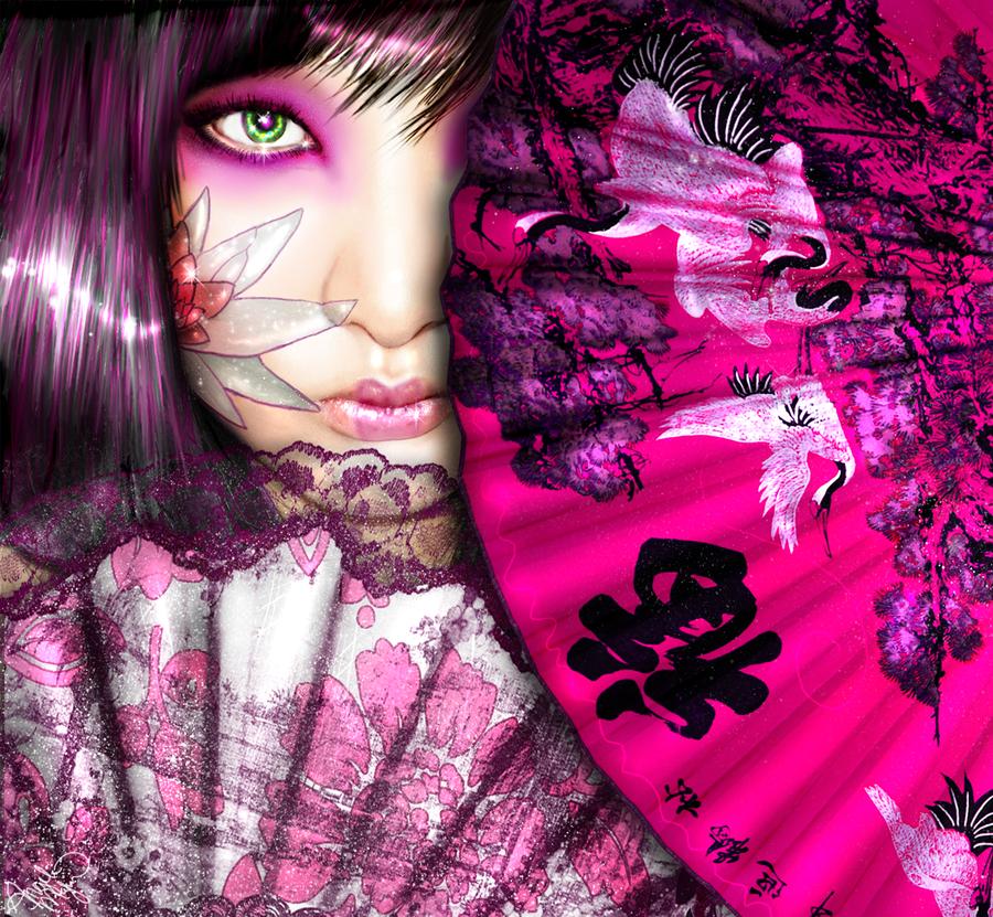 Purple Lotus Belle by ttbloodlusttt