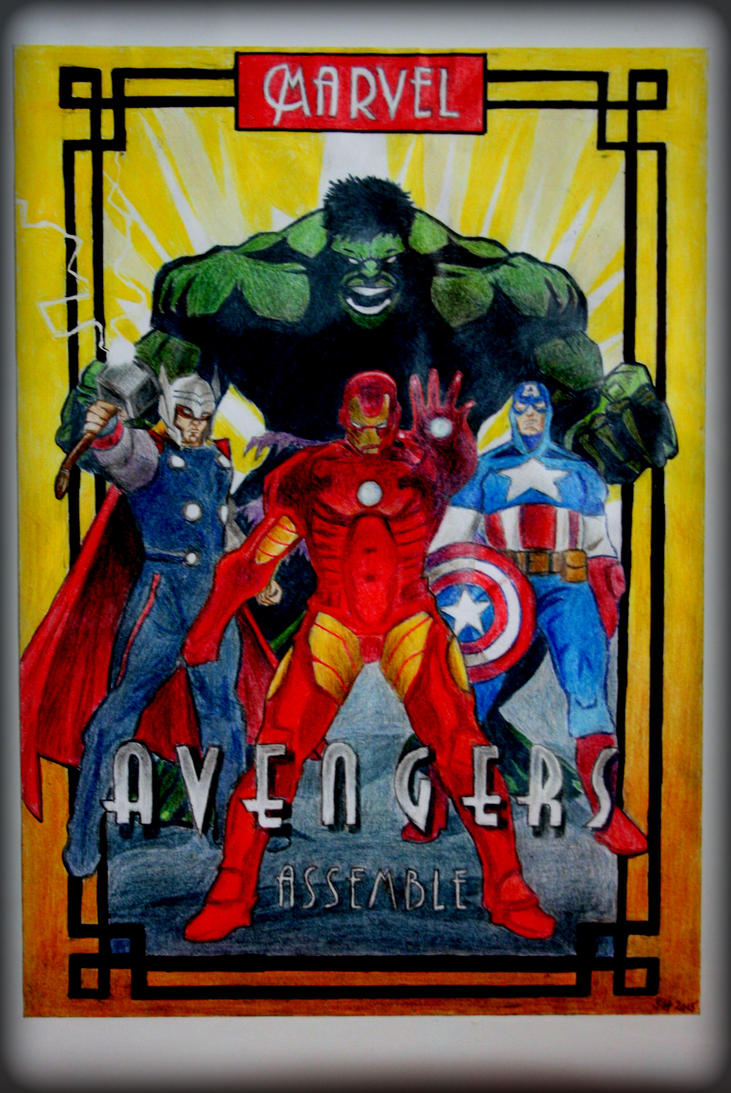 Avengers by Uncle-Sarah