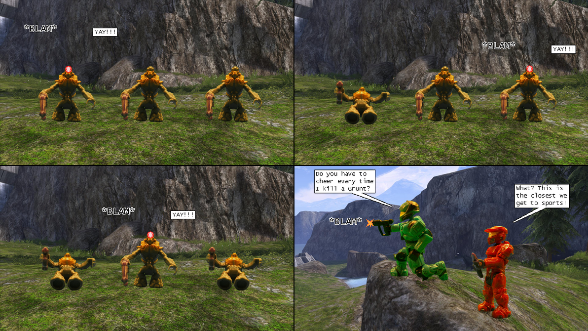 Halo comics evolved 005 by dracostarcloud on deviantart for Halo ce portent 2 firefight
