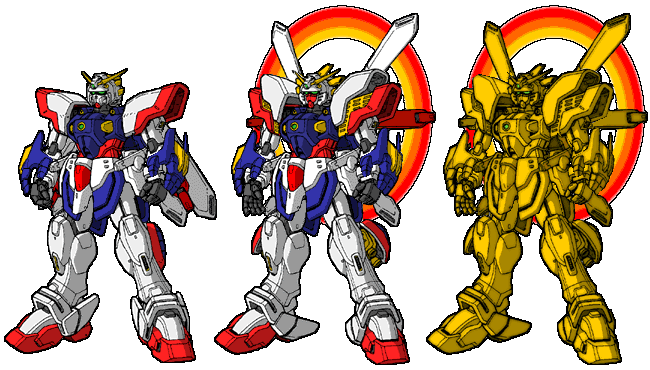 Godshine Gundam by dracostarcloud