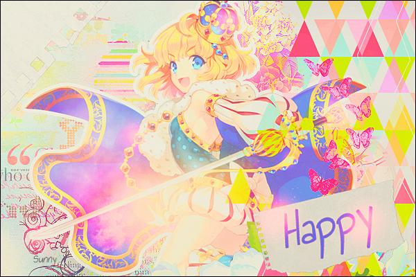 Sunshine ☆ はじめまして Happy___by_mllecalona-d8g4798