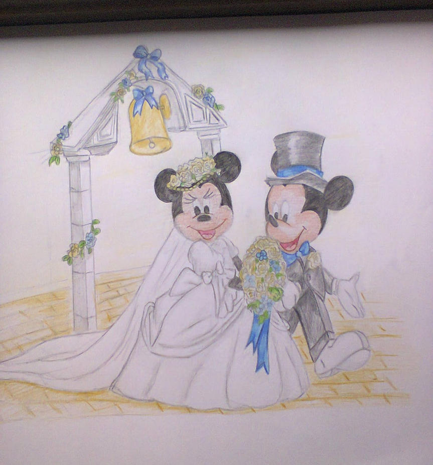 Mickey and Minnie Mouse Wedding by DalmatianMad on DeviantArt
