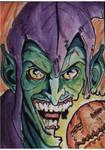 Green Goblin Sketch Card