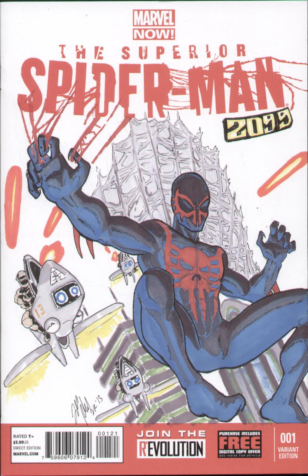 Superior Spider-Man-2099 by shinlyle on DeviantArt