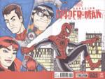 Superior Spider-Man #1 sketch cover wraparound