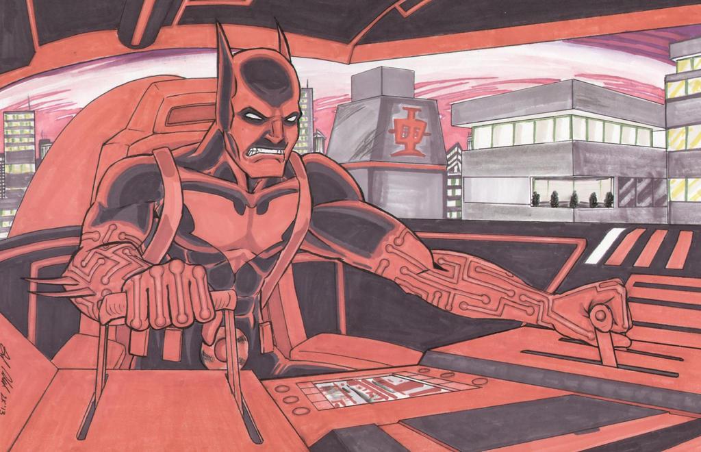 Batman Beyond by shinlyle
