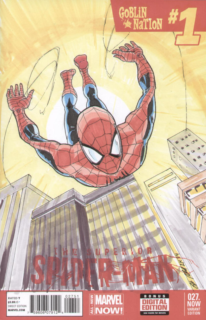 Spidey- Dive by shinlyle