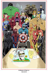 In Memory of Stan Lee by shinlyle