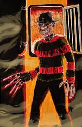 Freddy Krueger by shinlyle