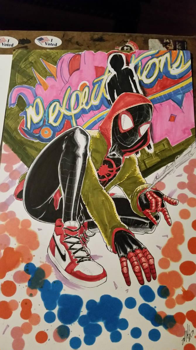 Miles Graffiti by shinlyle