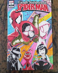 Spider-Verse Sketch Cover by shinlyle