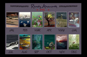 2015 art summary by Randy Ainsworth by RandyAinsworth