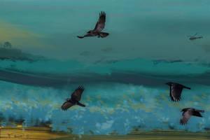 Night Flyers by RandyAinsworth