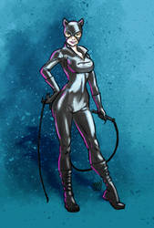 Catwoman by Manolo-Angus-Lepage