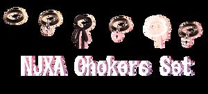 NJXA Chokers Set DOWNLOAD by kreifish