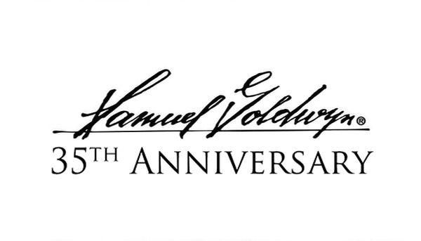 Samuel Goldwyn Company 35th Anniversary Logo