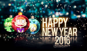 Happy New Year!! From Savannah, Harold, and Lyloo