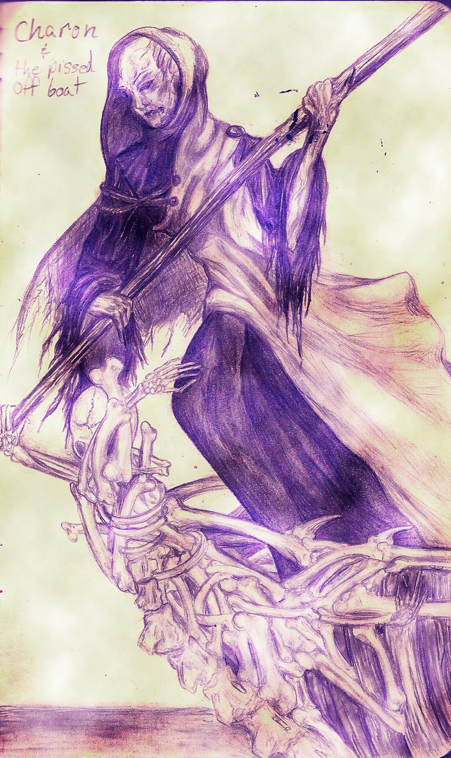 charon ferryman of the underworld by EAM6