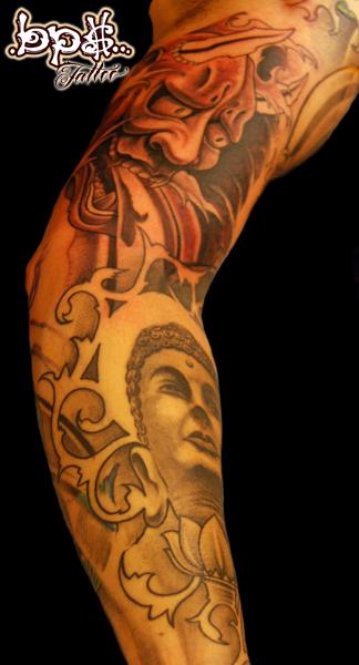 Hannya Bouddha by BPS-TATTOO