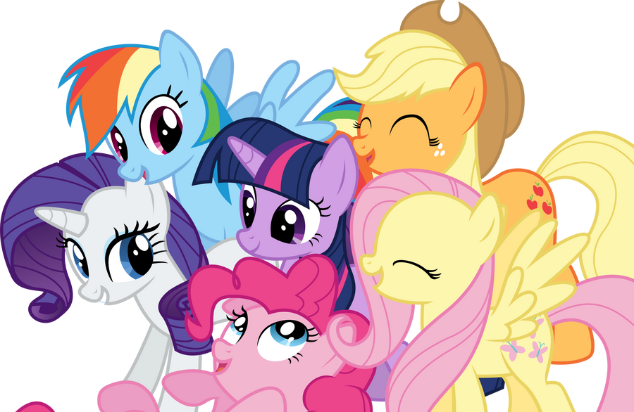 Suggestions Online | Images of Mlp Mane 6 Vector