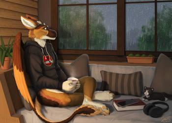 Cozy Rainstorm