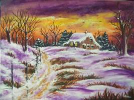 Winter Scenery by Leannananabz