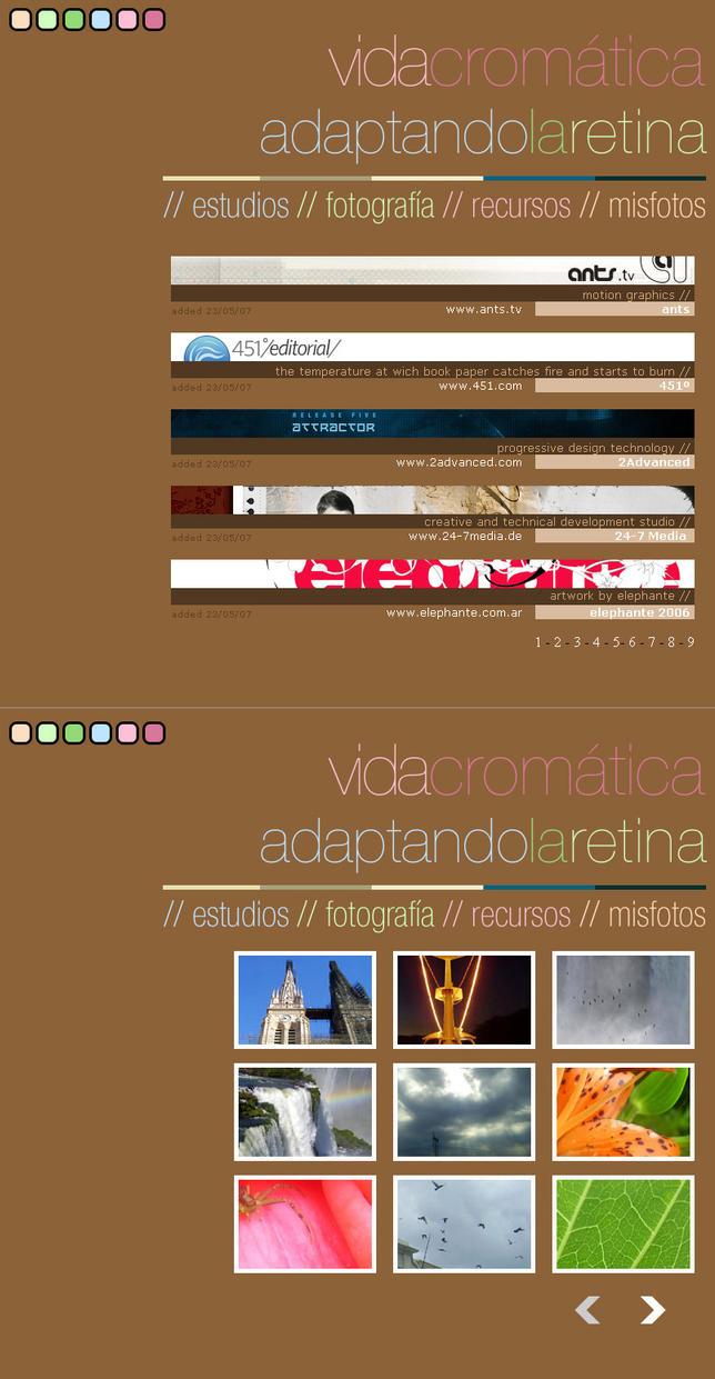 .: Vida Cromatica :. by tongastock