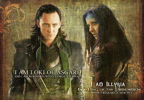 Loki and Illyria