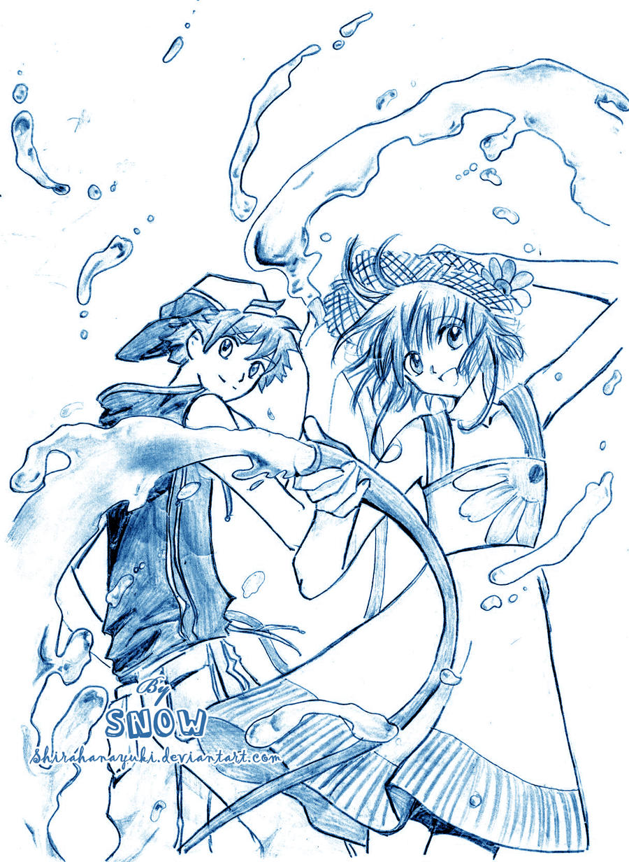 [Non-Conan fanart] by Snow Tsubasa_04_by_Shirahanayuki