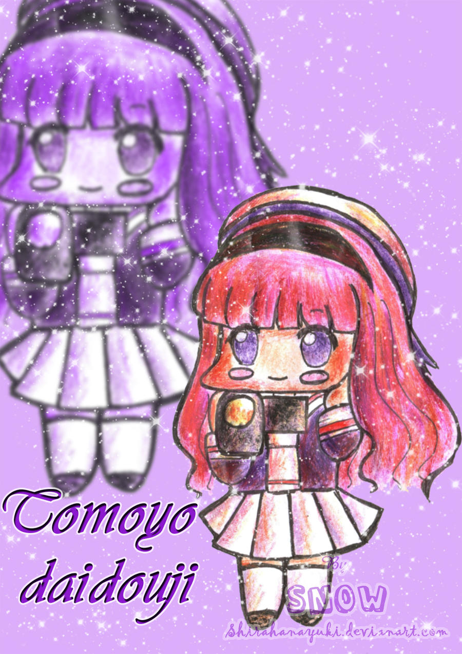 [Non-Conan fanart] by Snow Tomoyo_chibi_by_Shirahanayuki