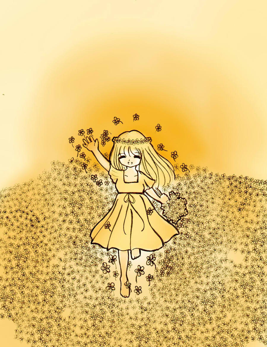 [Non-Conan fanart] by Snow Angel_in_memory____by_Shirahanayuki