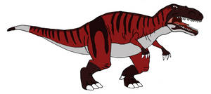 Torvosaurus in The Land Before Time style