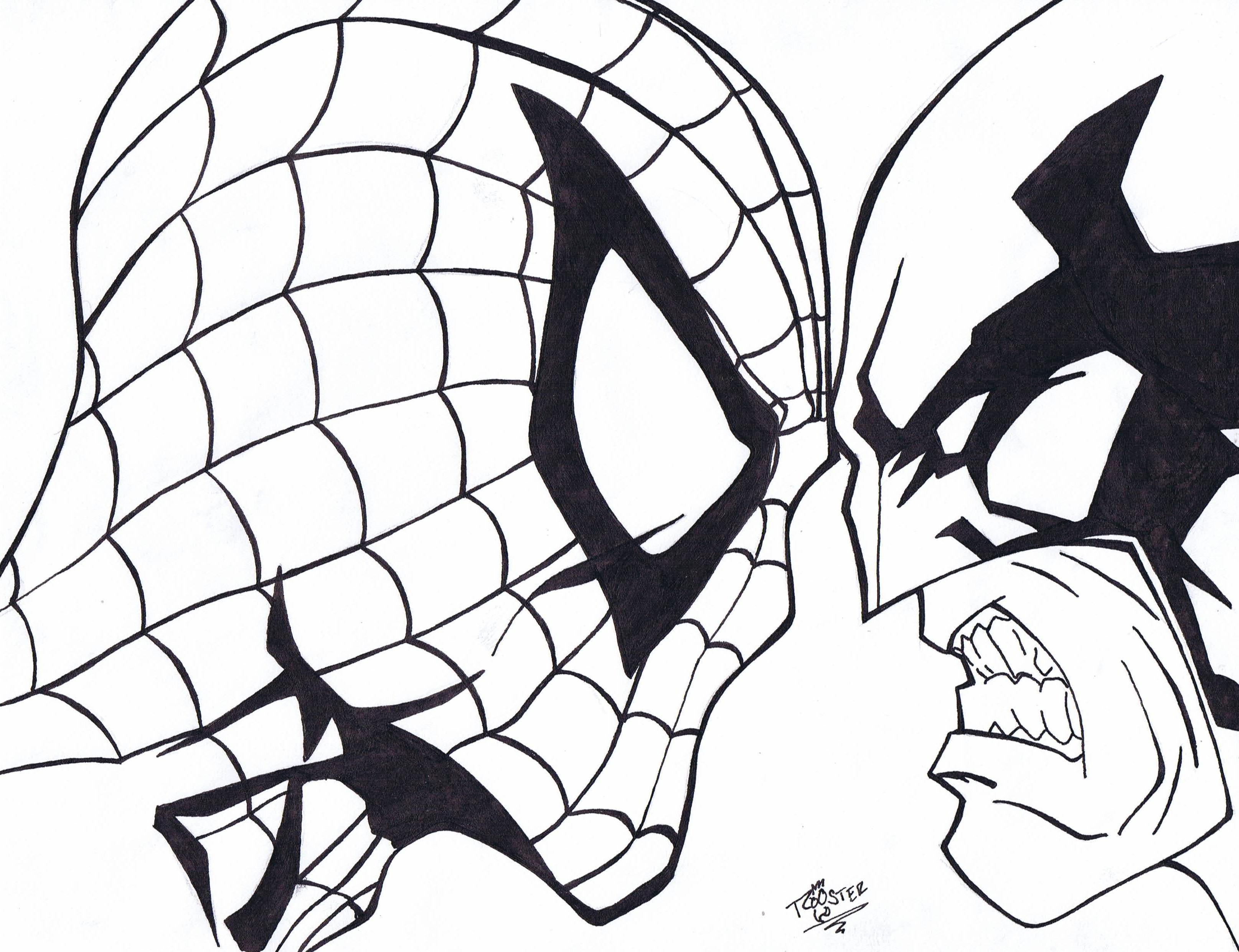 Image Result For Marvel Venom Coloring