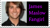 James Maslow Stamp by grovyle-n-wolfluvr
