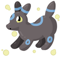 Shiny Umbreon by grovyle-n-wolfluvr