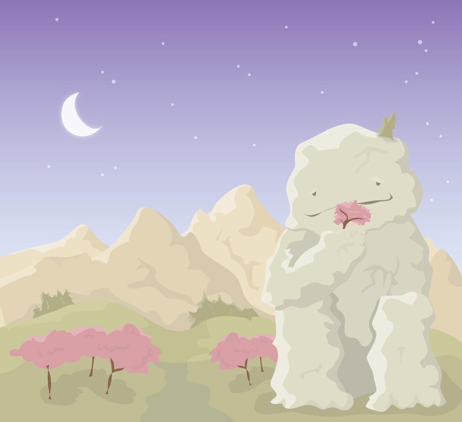 Lonely giant by MajaDalgaard