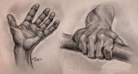 Hands - Master Studies by xaqBazit