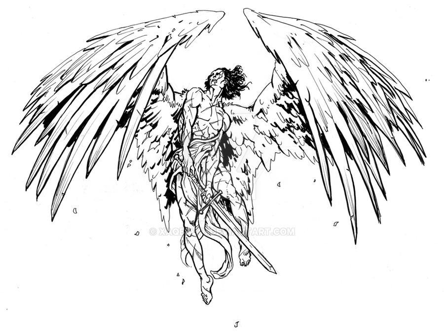 c3e389487 Angel Warrior by xaqBazit on DeviantArt