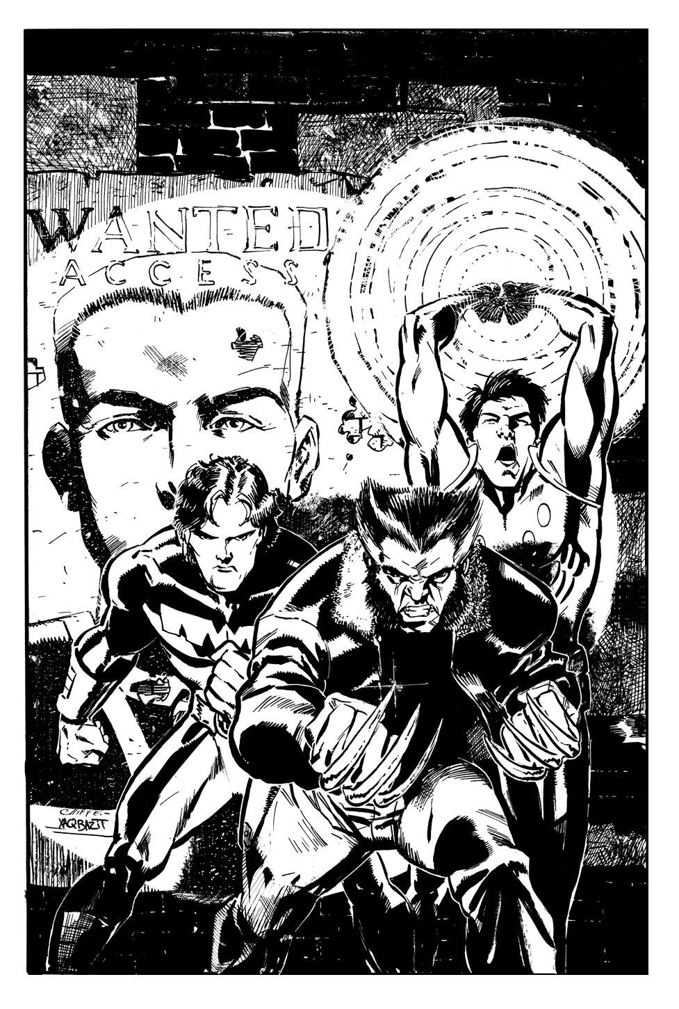 Wolverine Inks by xaqBazit