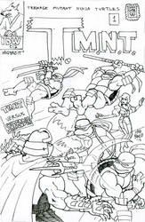 X-men/TMNT #1 by xaqBazit