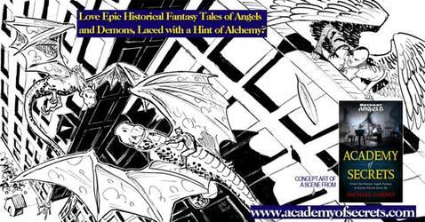 Outcast Angels - Academy of Secrets