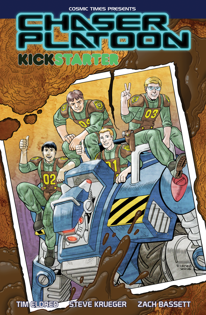 Chaser Platoon Kickstarter cover by xaqBazit