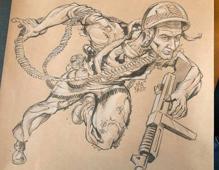 Sgt. Rock Commission by xaqBazit