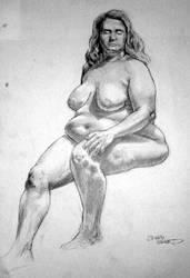 semester 2 big lady by xaqBazit
